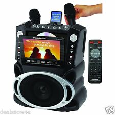 Karaoke System 7 Inch TFT Color Screen Record Function Singing Machine Party Jam