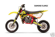 Dirt Bike Graphics Kit decal Sticker Wrap For Cobra CX50 2007-2012 DMNDFLAME Y K