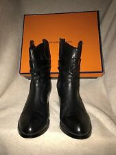 Women's ARTURO CHIANG Western Style Boots Black Sports Calf 7.5M Slightly Used