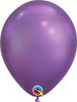 HELIUM QUALITY CHROME COLOR LATEX BALLOONS PACK OF 25 BIRTHDAY PARTY SUPPLIES