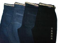 Gloria Vanderbilt Marnie Denim Jeans Skimmer Shorts Size 6 8 10 New $48