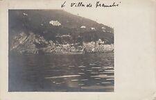 * GENOVA - Fotocartolina privata -  Villa De Franchi-Brignole Sale-Raggio 1910