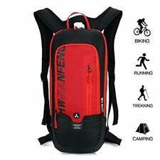 Bike Backpack, Waterproof Breathable Cycling Bicycle Rucksack, 10L Mini