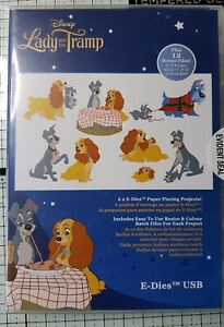 DISNEY E DIES LADY AND THE TRAMP SVG FILES USB