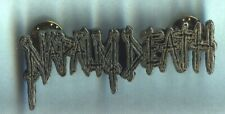 Napalm Death - Logo Metalpin