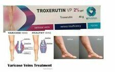 Varicose Spider Thread Veins gel 2% REMOVAL TREATMENT TROXEVASIN (Troxerutin)