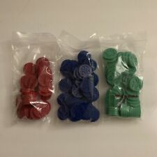 Classic Sequence Replcememt Red, Green, & Blue Tokens