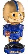 1961-62 New York Titans AFL Toes Up Bobblehead Nodder Bobble Head VERY RARE Jets