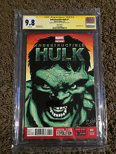 HULK #1 9.8 SKETCH COVER SIGNED Chris McJunkin CGC SIGNATURE SERIES SS SIGNED