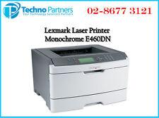 Lexmark E460dn Monocrome laser Workgroup Compaq laser Duplex printer Warranty