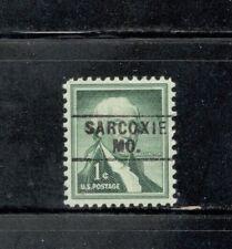Sc # 1031 ~ 1 cent Liberty Issue, Washington, Precancel, SARCOXIE MO.