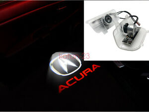 2x LED Laser Door Ghost Shadow Projector Lights For ACURA RDX 2013-2017