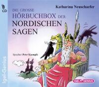 KATHARINA NEUSCHAEFER - DIE GROSSE HÖRBUCHBOX DER NORDISCHEN SAGEN - 8 CD NEU