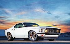 """Ford Mustang Muscle Car Poster 24""""x 16"""""""