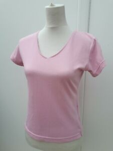Diadora Ladies Size 12 Pink Fitness Tunic Top T Shirt Gym Sports Active Wear