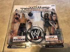 WWE Wrestling Layla and The Miz Adrenaline Series 29 Action Figure Set NEW