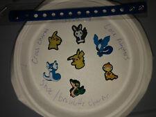 Pokemon Lot Of 7 +kids Bracelet 4 Crocs Shoe,Lace Adapter Charms,Jibbitz