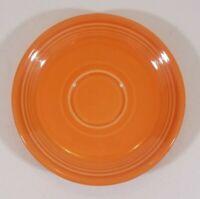 """FIESTA WARE 6 1/8"""" Bread & Butter B B Plate Tangerine Orange"""