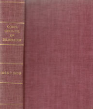 PROCEEDINGS OF THE CONNECTICUT COUNCIL OF DELIBERATION 1948-1958 MASONIC MASONRY