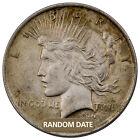 RANDOM DATE 1922-1935 Peace Silver Dollar $1 Coin - VG-XF Grades SKU28606