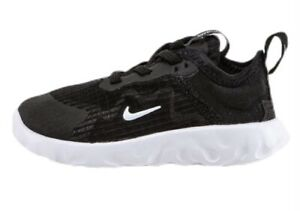 New In Box Nike Renew Lucent Black / White Infant Boys Trainers 6C