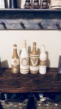 Home Decor Shabby Chic Rustic Centerpiece Mantle Vases Wedding