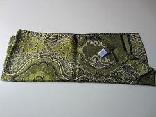 Paul Smith Mujer Estampado de cachemira Bufanda Largo 216 cm x W 42cm 100% Seda