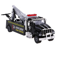 Simulated 1:50 Alloy Diecast Tow Truck Road Traffic Rescue Vehicle Model Car