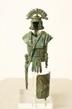 "Roman Armor Statue (Small) - 11.5 CM / 4.5"" - Made in Europe"