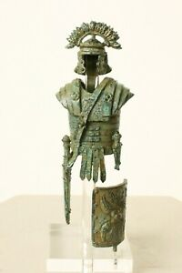"Roman Armor Statue (Small) - 11.5 CM / 4.5"" - Made in Europe"