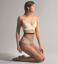 Jonathan Aston Diva Large Net Tights. Black. Fishnet. 80% Polyamide 20% Elastane
