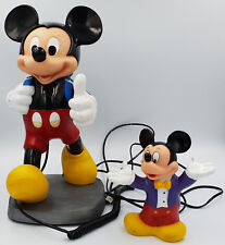 DISNEY : MICKEY MOUSE MONEY BANK / MICKEY MOUSE TELEPHONE (SK)