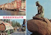 Vintage Scenic Postcard - Kobenhavn (Copenhagen) Denmark (Oct 1991).