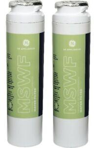 4 Pack GE MSWF Refrigerator Water Filter Cartridges Genuine OEM - 2 Pack