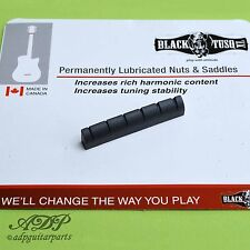 SILLET BLACK TUSQ GRAPH TECH ACOUSTIC GIBSON TAYLOR  Sloted NUT 43.4 PT-6116 OEM