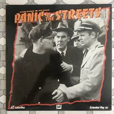 Panic In The Streets  - LaserDisc