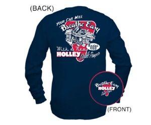 Holley Retro Double Pumper Long Sleeve T-Shirt - 10015-SMHOL