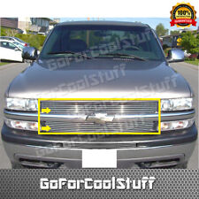 FOR CHEVROLET TAHOE 2000 2001 -- 2005 2006 UPPER BILLET GRILLE INSERT (7/7 BARS)