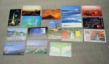 Lot of 16 NTT Japanese Phone Cards 1987-1994 Japan Landmarks