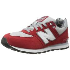 New Balance KL574 Paisley Pack Infant Red/Grey Running Shoe 2W