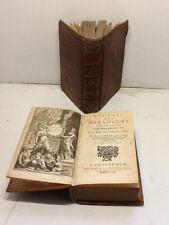 1709-RECUEIL DES HARANGUES PRONONCEES PAR  MESSIEURS DE L'ACADEMIE FRANCOISE