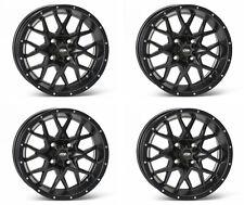 4 ATV/UTV Wheels Set 15in ITP Hurricane Matte Black 4/137 5+2 CAN