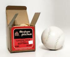 """NOS 1940's MacGregor Goldsmith Official """"consealed Stitch"""" CKS Softball 12"""""""