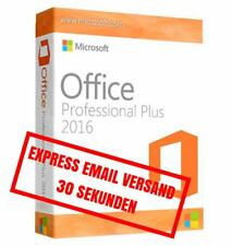 MS Microsoft Office 2016 PROFESSIONAL PLUS * Version complète d'origine Business * par