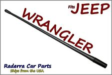 "FITS: 2007-2017 Jeep Wrangler JK - 13"" SHORT Custom Flexible Rubber Antenna Mast"