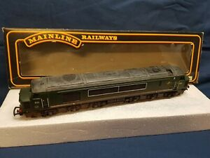 MAINLINE 37050 B.R GREEN CLASS 45 TYPE 4  DIESEL D32 WEATHERED V.NICE BOXED
