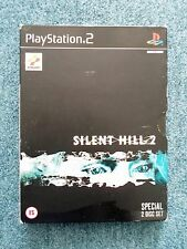Sony PlayStation 2 PS2 SILENT HILL 2 Special 2 Disc Set Konami Video Game