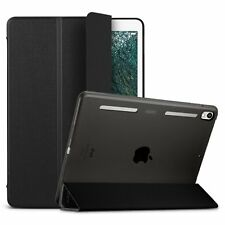 Apple iPad Pro 10.5 Luxury Leather Bumper Smart Auto Cover Screen Protector Case