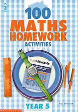 100 Maths Homework Activities for Year 5 by Lucy Simonds (Paperback, 2001)