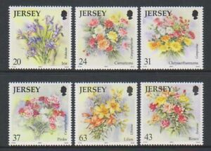 Jersey - 1998, Autumn Flowers set - MNH - SG 874/9